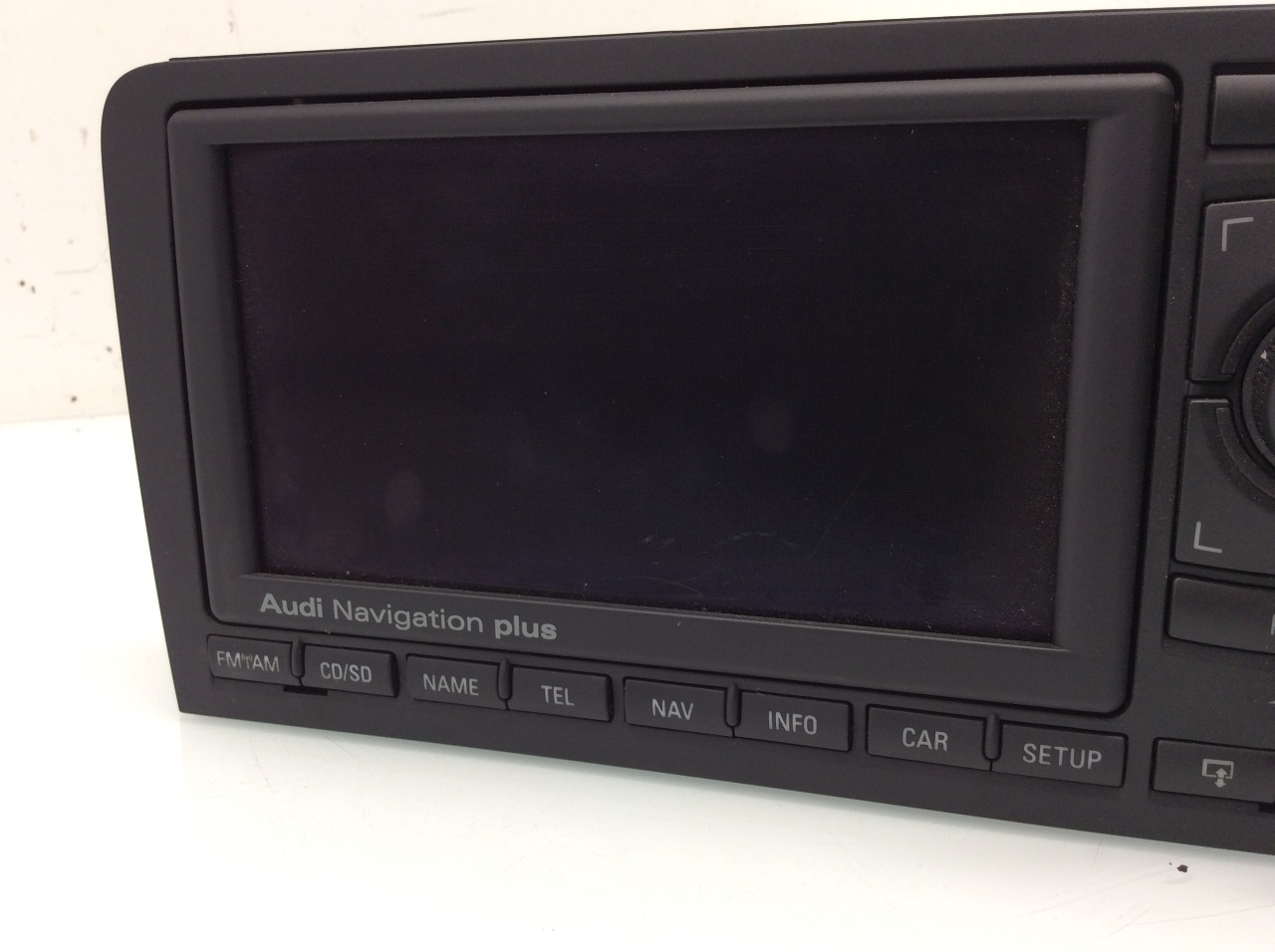 2006 2007 2008 2009 audi a3 gps navigation display unit 8p0035193x ebay. Black Bedroom Furniture Sets. Home Design Ideas
