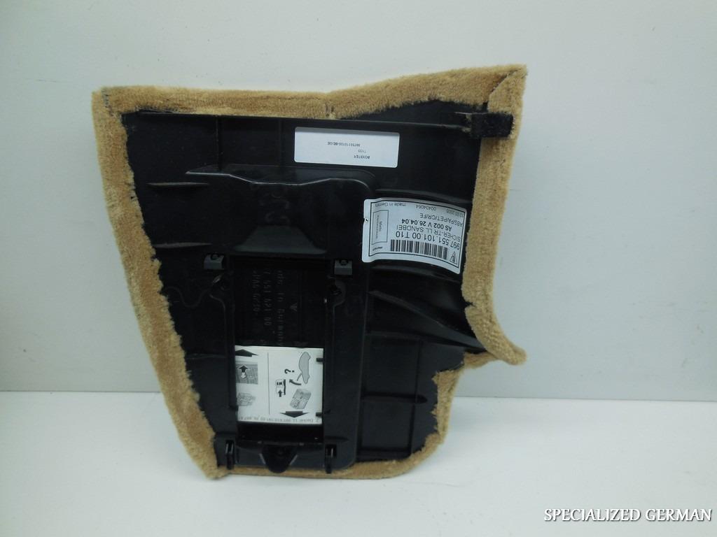 porsche 911 997 cayman boxster kick panel fuse cover carpet 30 01