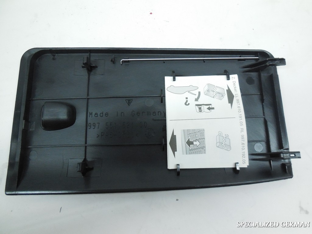 porsche 911 997 cayman boxster kick panel fuse cover. Black Bedroom Furniture Sets. Home Design Ideas