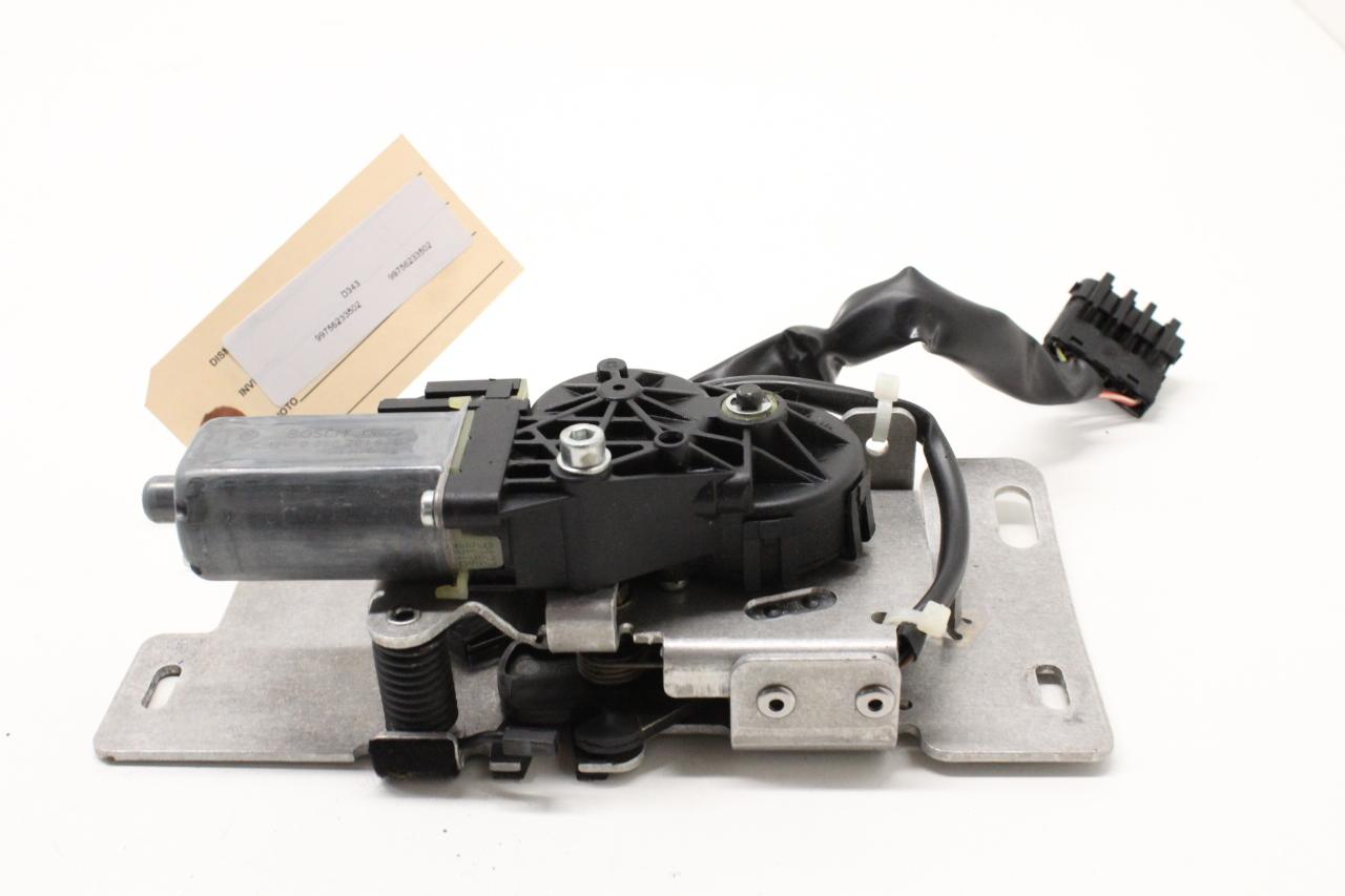 Service Manual 2012 Porsche 911 Mode Actuator Repair Inside Door Handle Actuator Cable