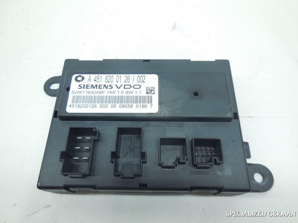 2008 2009 2010 2011 2012 2013 smart fortwo door control for 01333 door control module