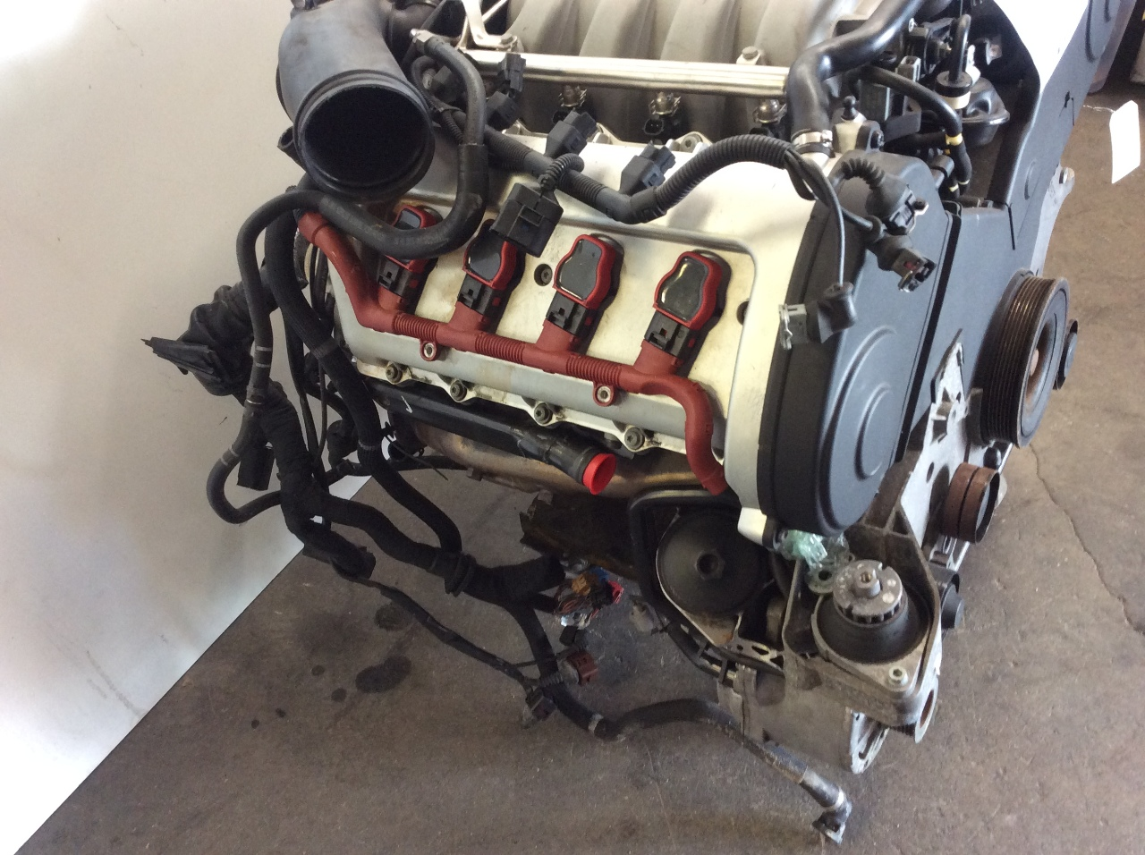 2004 2005 2006 audi a8 engine 4.2 motor bfm code | ebay 1999 audi a6 4 2 engine wiring 2006 audi a8 4 2 engine diagram #2