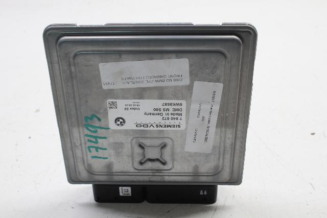 2008 2009 2010 2011 2012 2013 BMW M3 Engine Control Module ECU ECM 12147840872