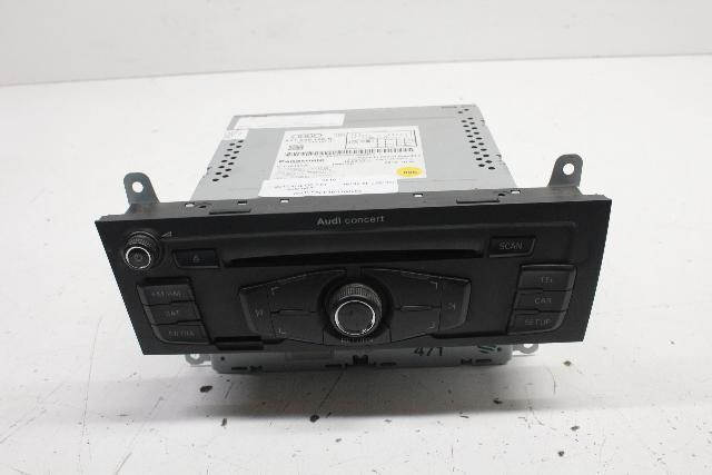 2011 Audi Q5 2.0T Automatic AM FM CD Radio Tuner 8T1035186R