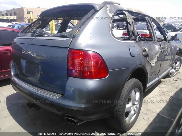 2004 porsche cayenne s grey interior fire damage specialized german recycling Porsche cayenne interior parts
