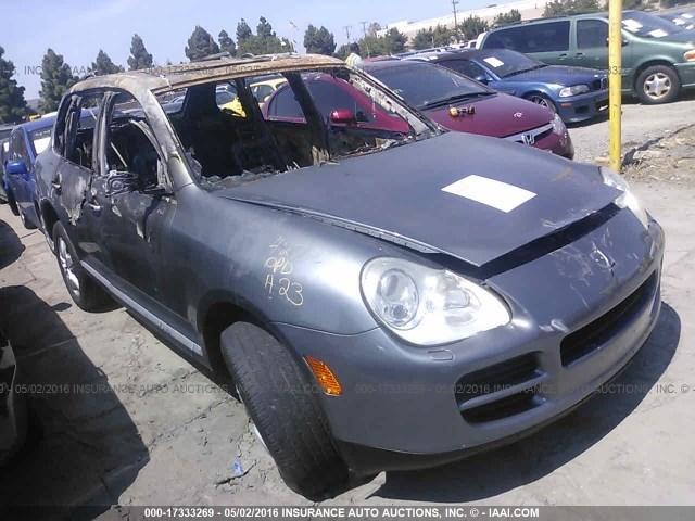 2004 Porsche Cayenne S Grey Interior Fire Damage Specialized German Recycling