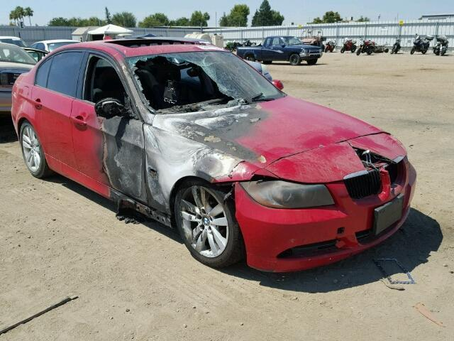 Bmw I Red Interior Fire SPECIALIZED GERMAN RECYCLING - Bmw 328i red