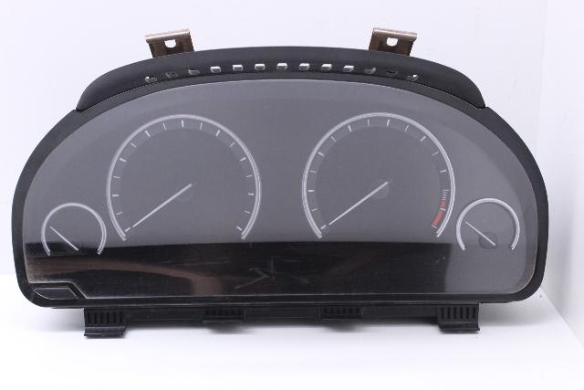Speedometer Cluster 2010 BMW 750Li Black