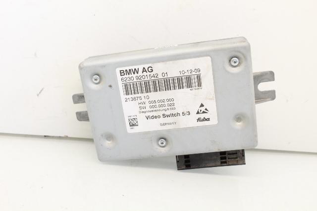 Video Switch Module 2010 BMW 750Li 65509201542