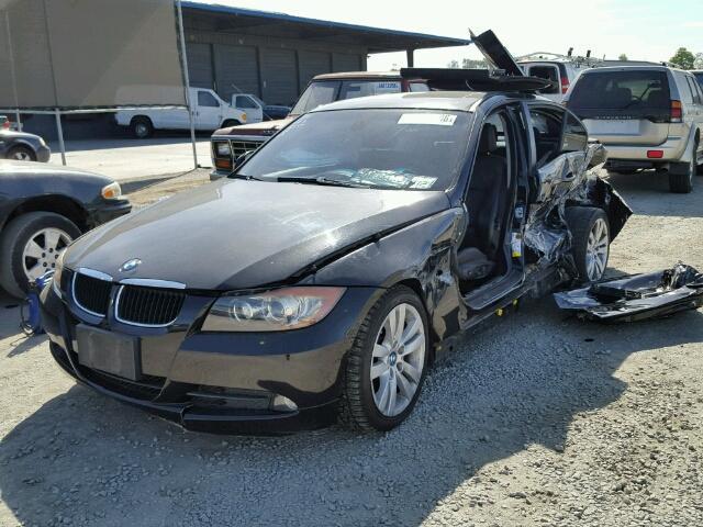 2006 Bmw 325i Black Damaged Left Side Specialized German