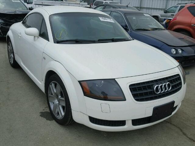 2004 Audi Tt White 1.8T