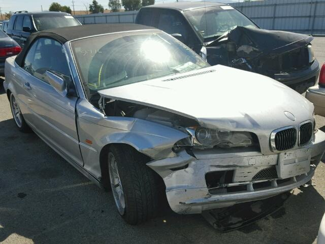 2001 Bmw 330Ci Silver Damaged Right Front