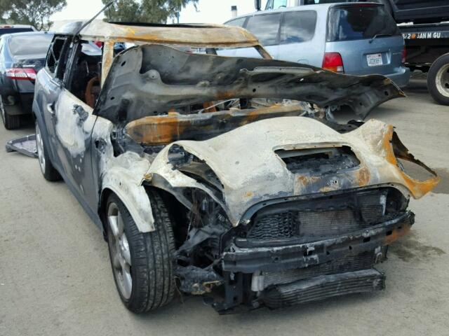 2009 Mini Cooper S clubman engine burn for parts