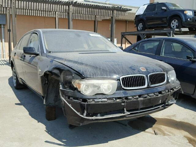 2004 Bmw 745Li Black Front Suspension Damage