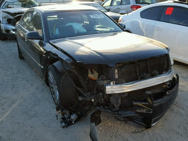 2004 Audi A8L Black Damaged Front