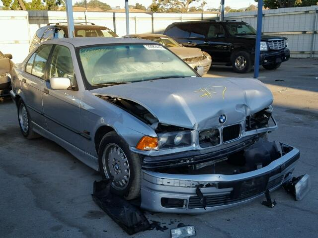 1996 Bmw 328I silver damaged front for parts