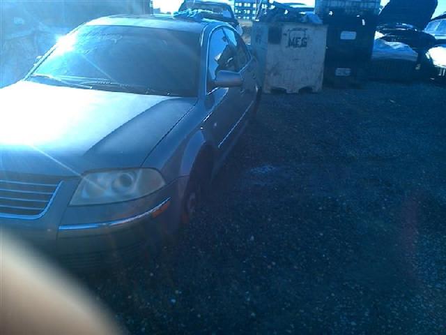 2002 Volkswagen Passat Grey Sedan V6 Mechanical Damage