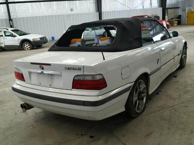 1995 Bmw 325ic Convertible White Theft Recovery