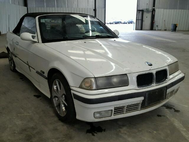 1995 Bmw 325IC convertible white theft recovery for parts