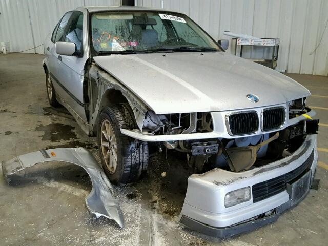 1998 Bmw 328I silver damaged front for parts