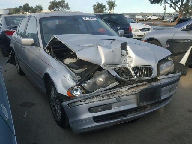 2000 Bmw 328I Silver