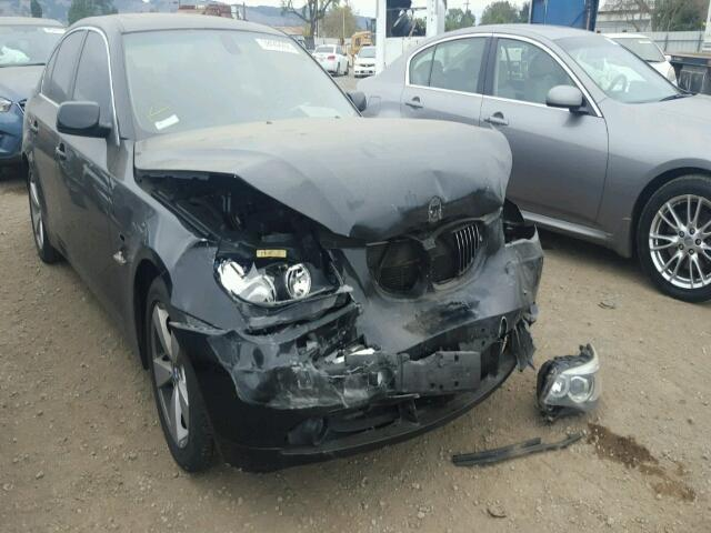 2007 Bmw 530xi 4dr black hit front for parts