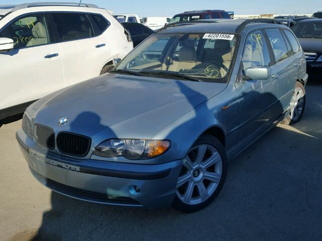 2003 BMW 325i 2.5 Wagon damaged left rear for parts