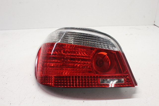 2006 BMW 525i Sedan E60 Left Driver Tail Lamp Assembly 63217165739