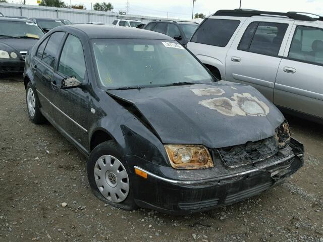 2004 Volkswagen Jetta black 1.9 tdi burn for parts