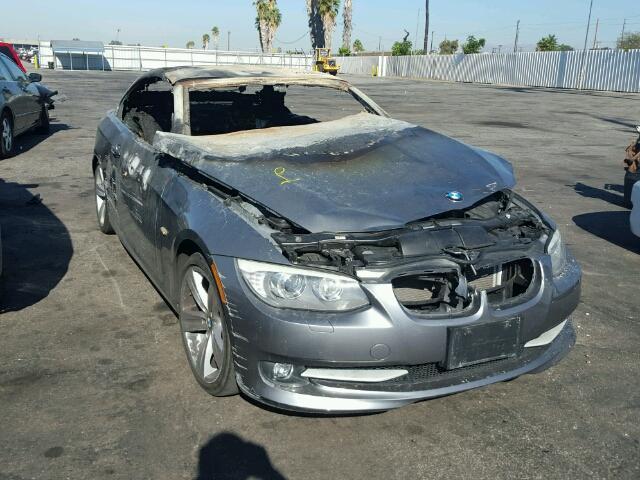 2011 Bmw 328I Fire Damage