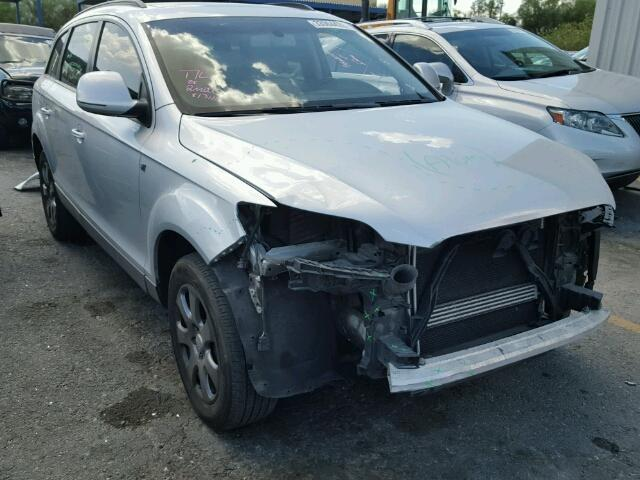 2007 Audi Q7 3.2 silver hit front for parts