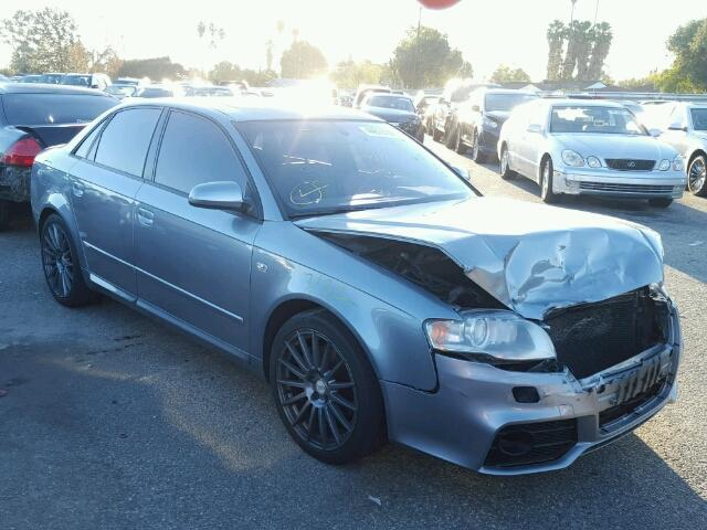 2006 Audi A4 2.0t turbo grey hit front for parts