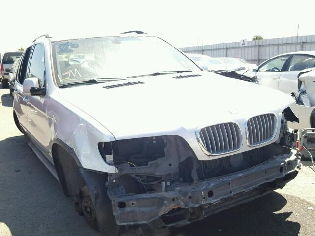 2003 Bmw X5 silver for parts