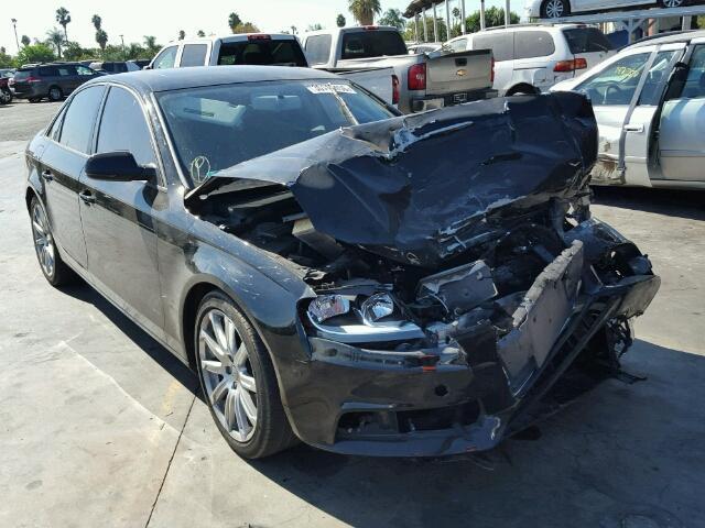 2011 Audi A4 2.0T Black Hit Front