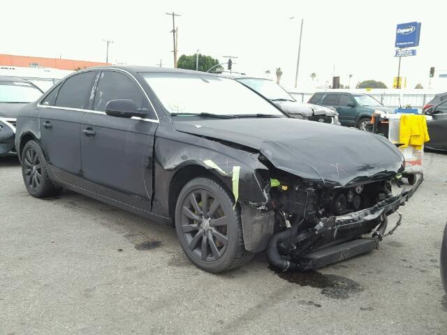 2010 Audi A4 2.0T Black Hit Front