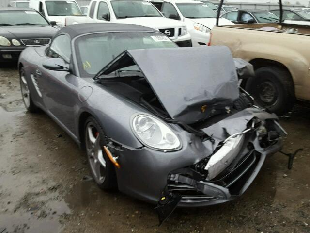 2006 Porsche Boxster S 3.2 Grey 6 Speed Damaged Front