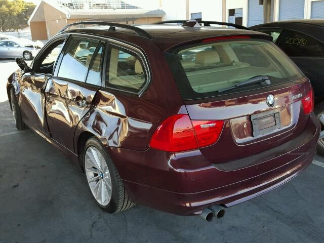 Bmw I Wagon Red Awd Damage Left Side SPECIALIZED - Bmw 328i red