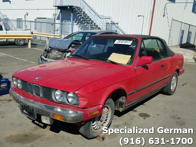 Bmw I Convertible Red SPECIALIZED GERMAN RECYCLING - Bmw 325i convertible