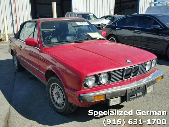 1987 Bmw 325I convertible Red