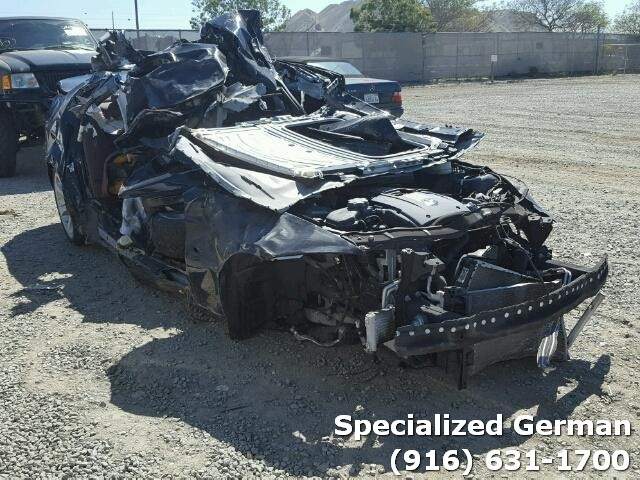 2008 BMW 335i Sedan Black Rollover For Parts