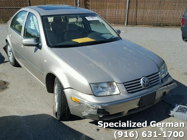 2004 Volkswagen Jetta Sedan Golf Rear Damage