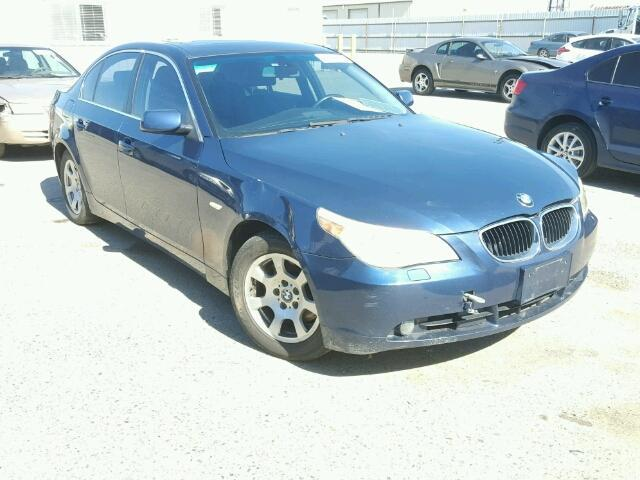 2004 525I BMW SDN 4DR/BLUE FOR PARTS