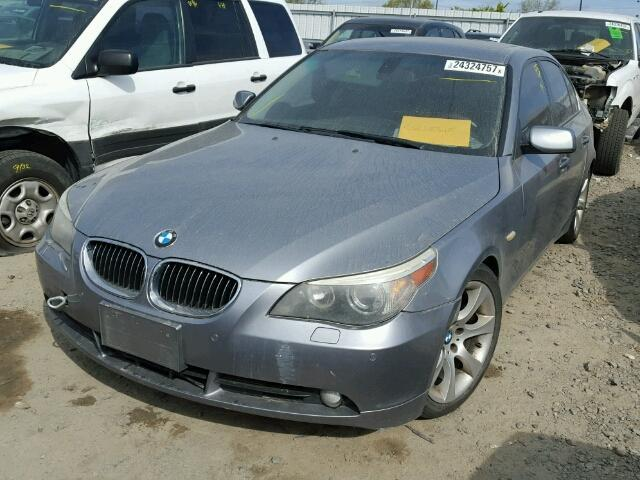 2006 550I BMW SDN 4DR/GREY  FOR PARTS