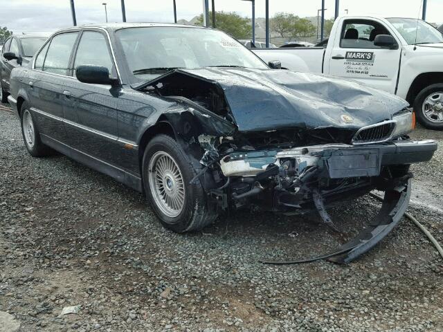 1998 Bmw 750Il sedan 4Dr/Green Front Damaged