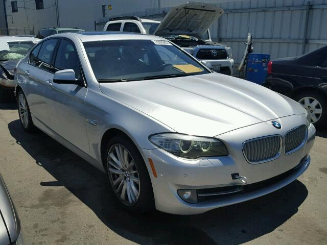 2011 550I BMW SDN 4DR/SILVER FOR PARTS
