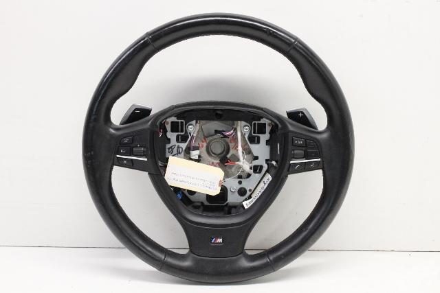 2012 Bmw 550i Sedan F10 Sedan 4-Door 4.4 V8 Gas Turbo M Sport Steering Wheel