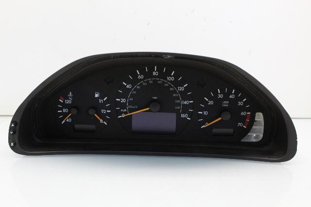2002 Mercedes Benz CLK320 Speedometer Cluster A2085405811