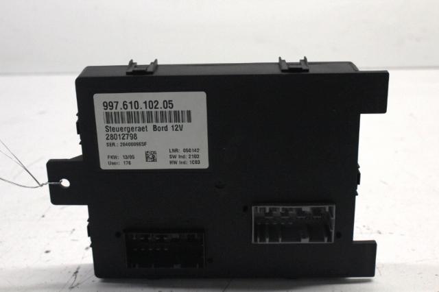 2005 Porsche Boxster 987 2.7 Gateway Control Module 99761010205