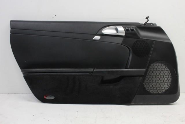 2008 Porsche Boxster S 3.4 Driver Left Leather Door Panel 987555101
