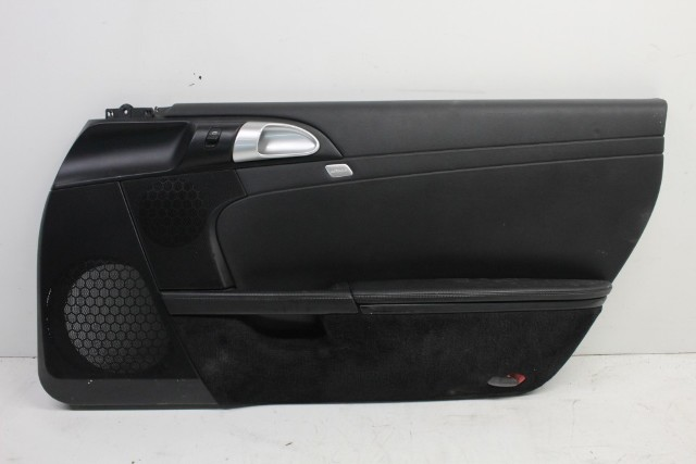 2008 Porsche Boxster S 3.4 Passenger right Leather Door Panel 987555102